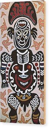 Papua New Guinea Manggi Wood Print
