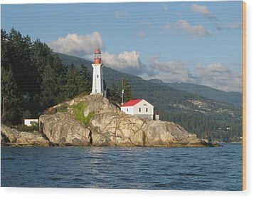 Point Atkinson Lighthouse Wood Print by Brian Chase
