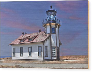 Wood Print featuring the photograph Point Cabrillo  by Kandy Hurley