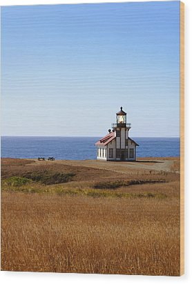Point Cabrillo Light House Wood Print by Abram House