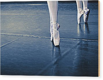 Pointe Wood Print by Laura Fasulo