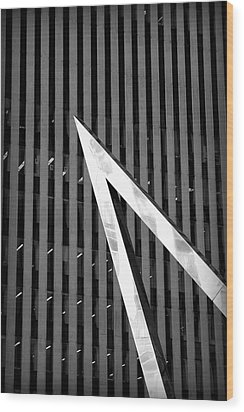 Pointy Wood Print by Valentino Visentini