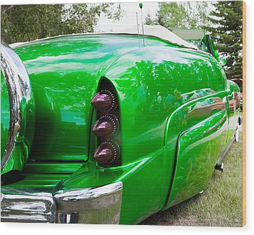 Poison Ivy Green Custom Car Wood Print