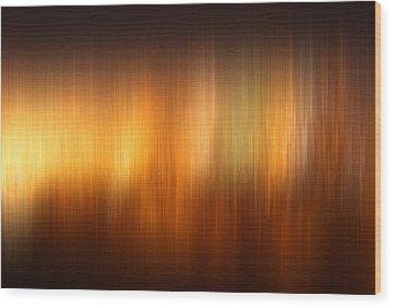 Polar Lights Wood Print