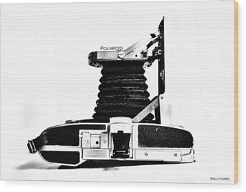 Polaroid Land Camera 95b 2 Wood Print