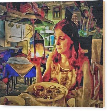 Polina At Lamma Island Wood Print by Yury Malkov