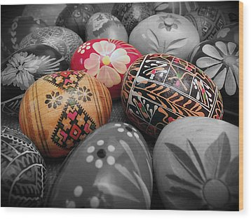 Polish Eggs Wood Print