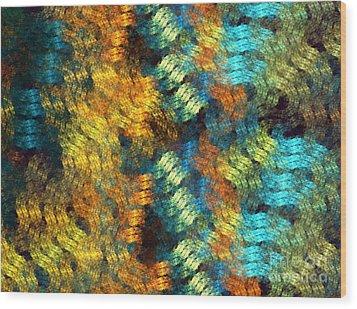 Pollux Wood Print