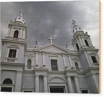 Ponce Cathedral Wood Print