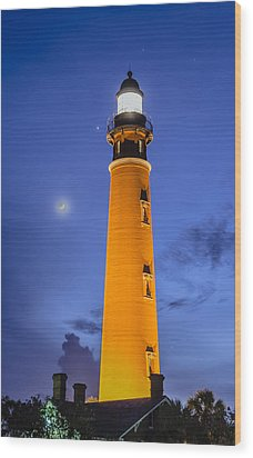 Ponce De Leon Lighthouse Wood Print