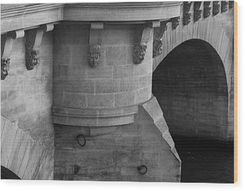 Wood Print featuring the photograph Pont Neuf by Glenn DiPaola