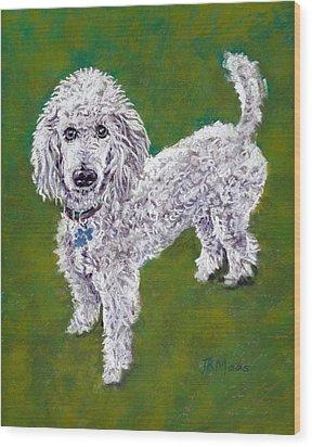 Poodle Pal Wood Print