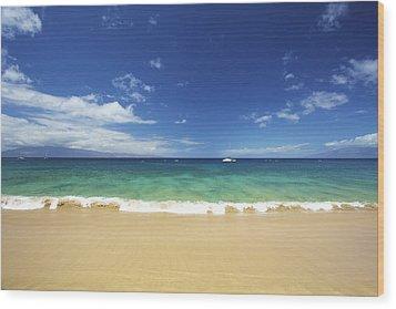 Poolenalena Beach Park Wood Print by Kicka Witte