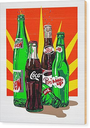 Pop Art Wood Print by Neil Garrison