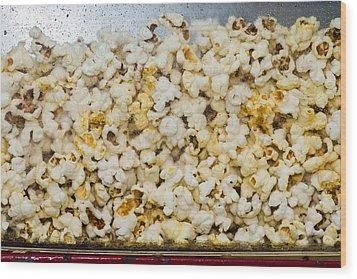 Popcorn 2 - Featured 3 Wood Print by Alexander Senin