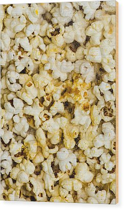 Popcorn - Featured 3 Wood Print by Alexander Senin