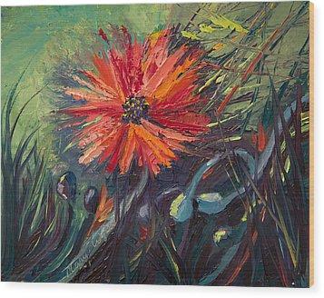 Poppin' Poppies Wood Print
