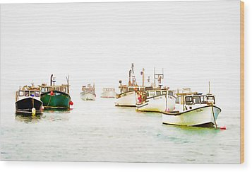 Port Bound  Chatham Cape Cod Photo Art Wood Print by Constantine Gregory
