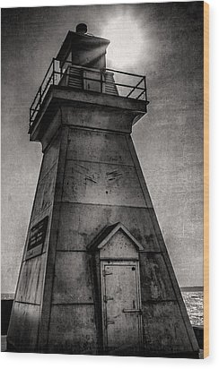 Port Dover Lighthouse Wood Print