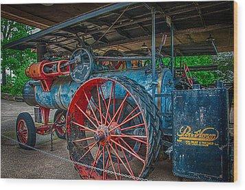Port Huron Engine And Thresher Machine Wood Print by Gene Sherrill
