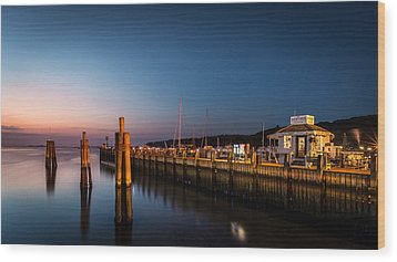 Port Jefferson Wood Print