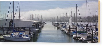 Wood Print featuring the photograph Port Kingston Marina by Greg Reed