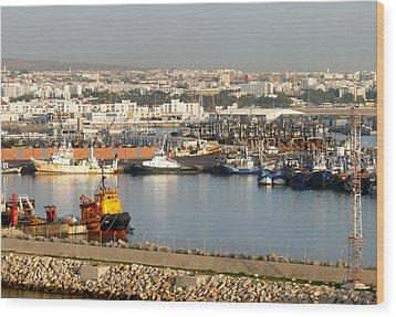 Port Of Agadir Morocco 1 Wood Print