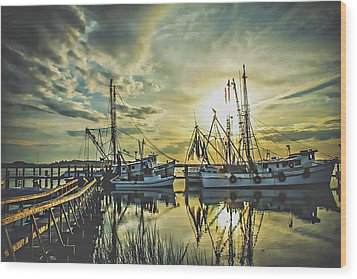 Port Royal Wood Print