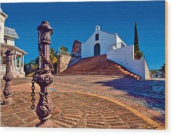 Porta Coeli Church Wood Print by Ricardo J Ruiz de Porras