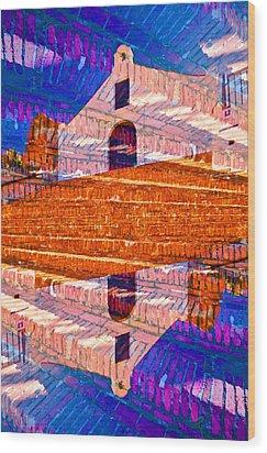 Wood Print featuring the photograph Porta Coeli by Ricardo J Ruiz de Porras