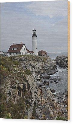 Portland Light Wood Print