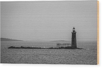 Portland Maine Lighthouse  Wood Print