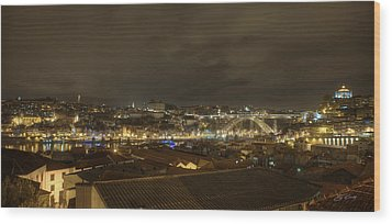 Porto Portugal From Taylor Winery Wood Print