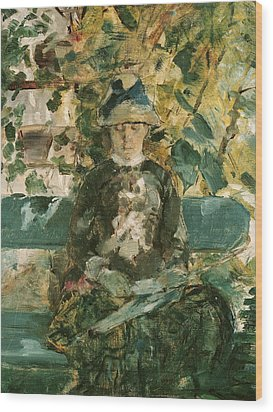 Portrait Of Adele Tapie De Celeyran Wood Print