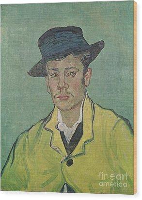 Portrait Of Armand Roulin Wood Print by Vincent Van Gogh