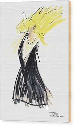 Portrait Of Dan Savage Wood Print