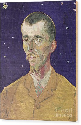 Portrait Of Eugene Boch Wood Print by Vincent Van Gogh