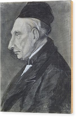 Portrait Of The Artists Grandfather Wood Print by Vincent Van Gogh