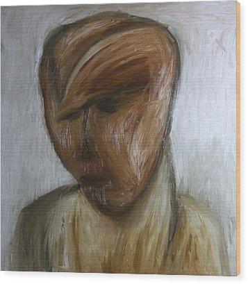 Portret Wood Print