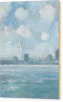 Portsmouth Part One Wood Print by Alan Daysh