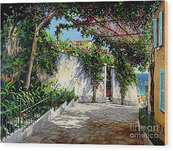 Positano  Wood Print by Michael Swanson