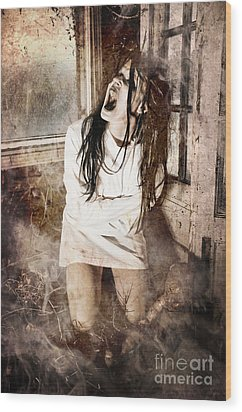 Possessed Wood Print by Jt PhotoDesign