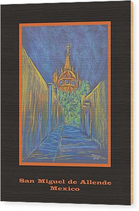 Poster - Parroquia From The Back Wood Print by Marcia Meade