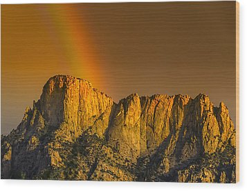 Pot Of Gold Wood Print