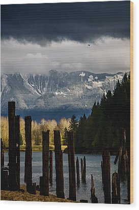 Potential - Landscape Photography Wood Print by Jordan Blackstone