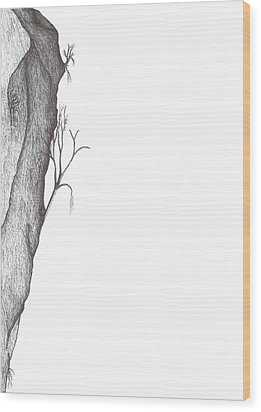 Potentially Climbable Wood Print by Giuseppe Epifani