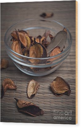 Potpourri Wood Print by Jelena Jovanovic
