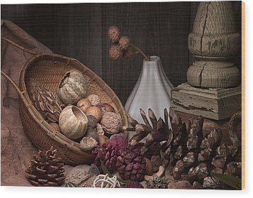 Potpourri Still Life Wood Print by Tom Mc Nemar