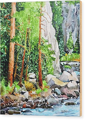 Poudre Canyon Beauty Wood Print by Tom Riggs