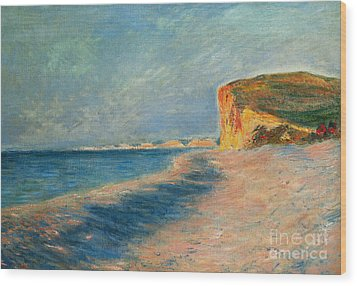 Pourville Near Dieppe Wood Print by Claude Monet